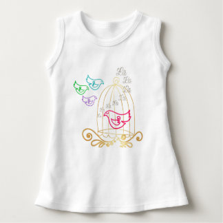 The Caged Bird Sings Baby Dress