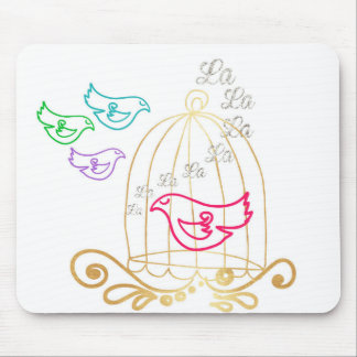 The Caged Bird Sings Mouse Pad