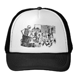 The Calavera General of the Graveyard Trucker Hat