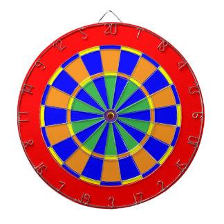 The Calenda Dartboard With Darts