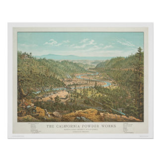 The California Powder Works (1306) Poster