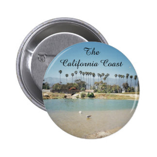 The California Santa Barbara Coast Button