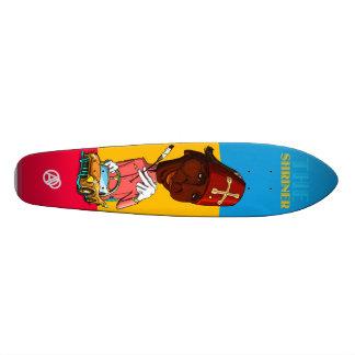 The Californian Shriner Skateboard