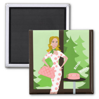 The Call 2 Inch Square Magnet