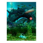 The Call Aquatic Life 3D Postcard