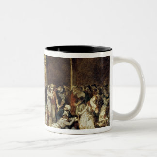 The Call for the Last Victims of the Terror 2 Two-Tone Coffee Mug