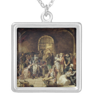 The Call for the Last Victims of the Terror 2 Silver Plated Necklace
