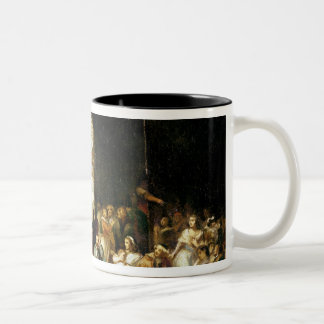 The Call for the Last Victims of the Terror Two-Tone Coffee Mug