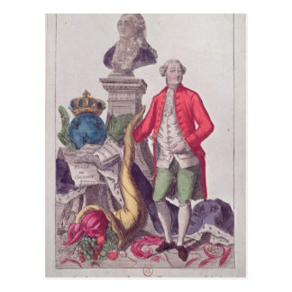 The Call of Jacques Necker  16th July 1789 Postcard