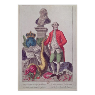 The Call of Jacques Necker  16th July 1789 Posters