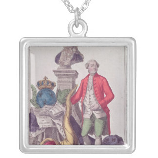 The Call of Jacques Necker  16th July 1789 Silver Plated Necklace