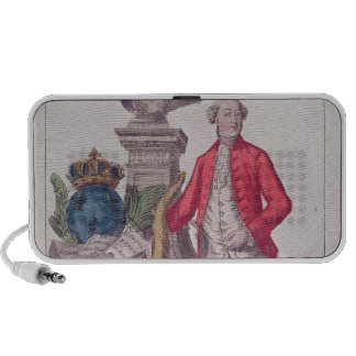 The Call of Jacques Necker  16th July 1789 iPod Speakers