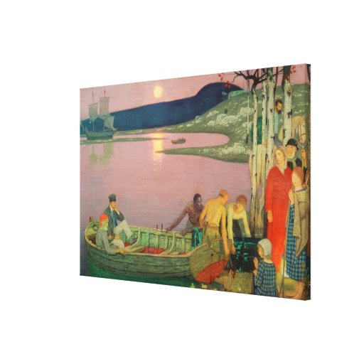 The Call of the Sea, 1925 Canvas Print