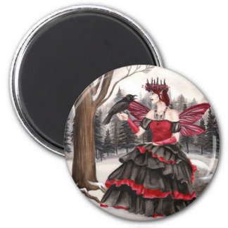 The Call of Winters Chill 2 Inch Round Magnet