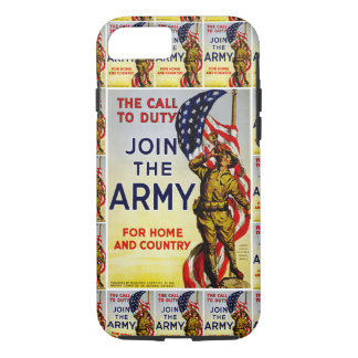 The Call to Duty ~ Join the Army iPhone 8/7 Case
