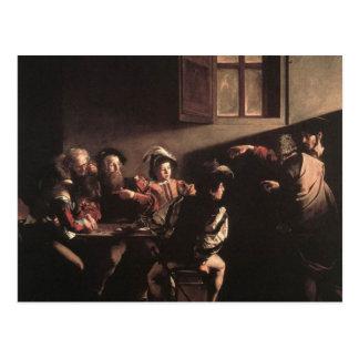 The Calling of Saint Matthew Post Card