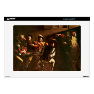 "The Calling of St. Matthew, c.1598-1601 15"" Laptop Skin"
