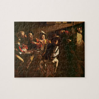The Calling of St. Matthew, c.1598-1601 Jigsaw Puzzle