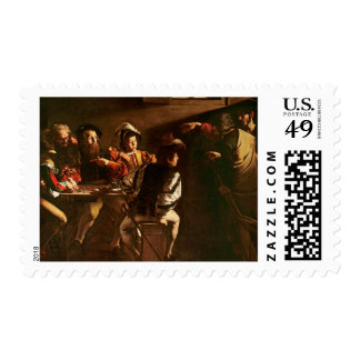 The Calling of St. Matthew, c.1598-1601 Postage Stamp