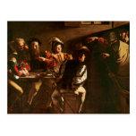 The Calling of St. Matthew, c.1598-1601 Postcard