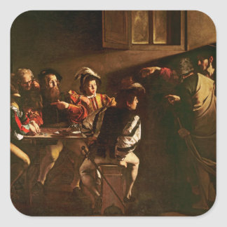 The Calling of St. Matthew, c.1598-1601 Stickers