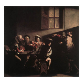 The Calling of St Matthew Poster