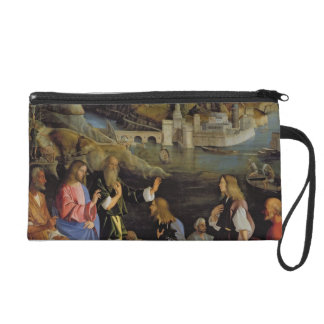 The Calling of the Sons of Zebedee panel Wristlet Purse