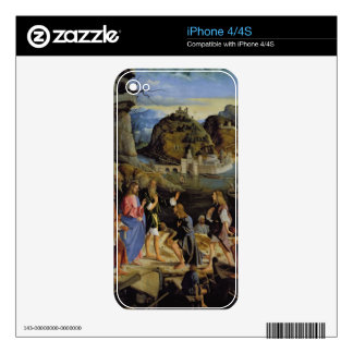 The Calling of the Sons of Zebedee (panel) Skins For The iPhone 4