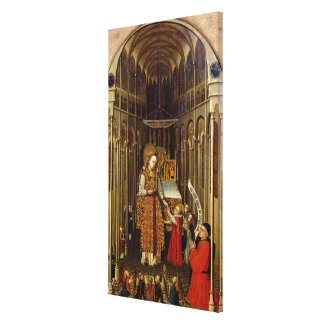 The Calling of the Virgin Canvas Print