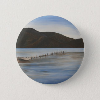The Calm Water of Akyaka Pinback Button