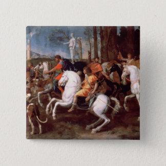 The Calydonian Boar Hunt, 1637-38 Pinback Button