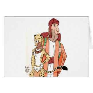 The Camel And the Cheetah Card