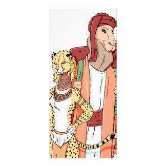 The Camel And the Cheetah Custom Rack Cards