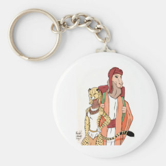 The Camel And the Cheetah Keychain