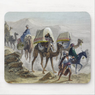 The Camel Train, from 'Constantinople and the Blac Mouse Pad