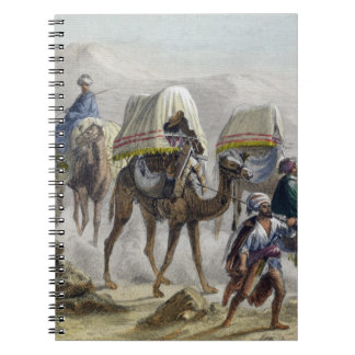 The Camel Train, from 'Constantinople and the Blac Notebook