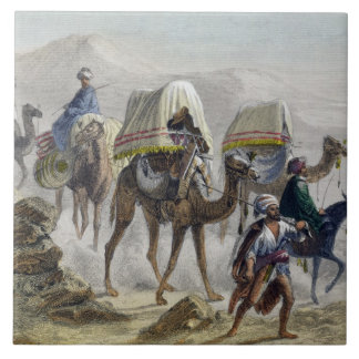 The Camel Train, from 'Constantinople and the Blac Tiles