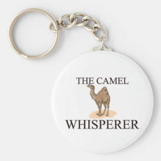 The Camel Whisperer Basic Round Button Keychain