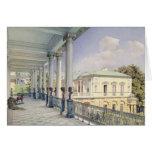 The Cameron Gallery at Tsarskoye Selo, 1859 Card