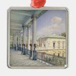 The Cameron Gallery at Tsarskoye Selo, 1859 Christmas Ornaments
