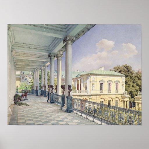 The Cameron Gallery at Tsarskoye Selo, 1859 Poster