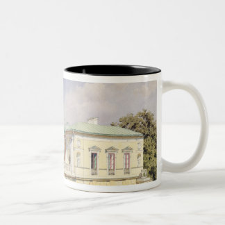 The Cameron Gallery at Tsarskoye Selo, 1859 Two-Tone Coffee Mug