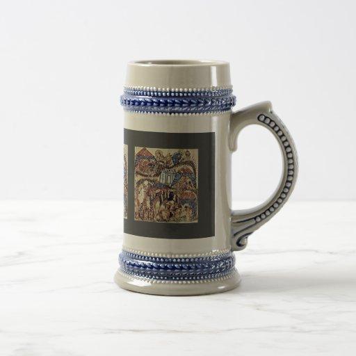 The Camp (04 Maqamat) By Irakischer Maler Um 1230 Coffee Mug
