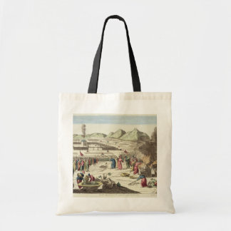 The camp of the Israelites and the sacrifice of th Budget Tote Bag