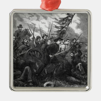 The Campaign in Virginia - 'On to Richmond' Metal Ornament