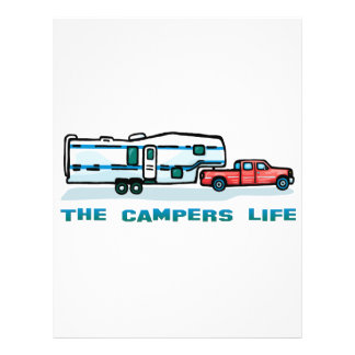 The Campers Life Flyer