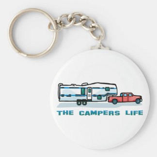 The Campers Life Keychain