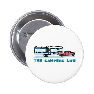 The Campers Life Pinback Button
