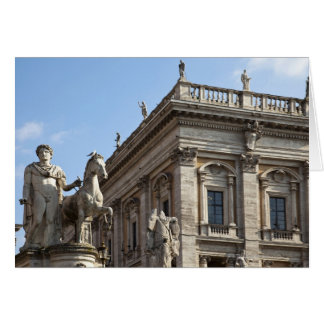 The Campidoglio (Capitoline Hill), between the 2 Card