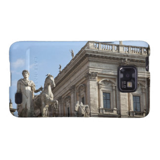 The Campidoglio (Capitoline Hill), between the 2 Galaxy SII Case